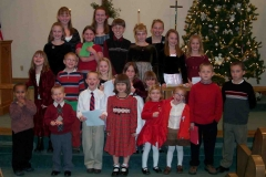 Children of the Christmas program