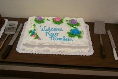 New Member Cake
