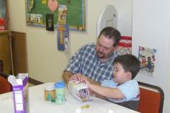 Dad's Day in the Kindergarten class